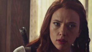 Black Widow: le costume de Scarlett Johansson filtré avec de l'art promotionnel