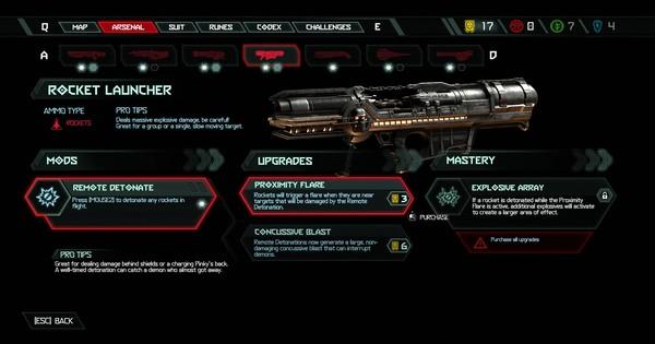 DOOM Eternal | Lanceur de fusée – Tous les mods et mises à niveau