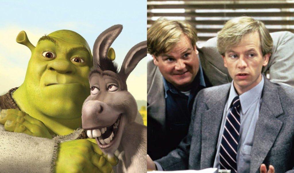 Le film de Shrek a été inspiré par la comédie Tommy Boy