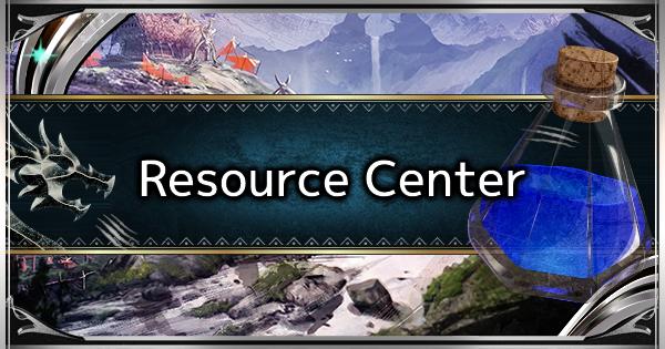 MHW: ICEBORNE | Qu'est-ce que le centre de ressources et comment l'utiliser