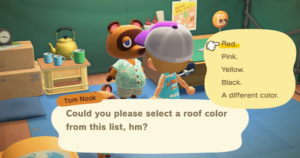 【Animal Crossing New Horizons】Roof Color - How To Change【Animal Crossing Switch】 - GameWith