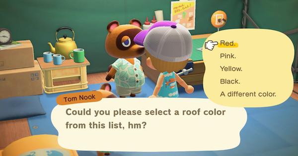 【Animal Crossing New Horizons】 Couleur du toit – Comment changer 【Interrupteur Animal Crossing】 – JeuxPourTous