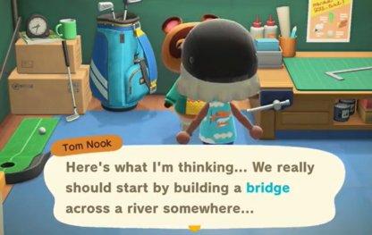 Terminer la construction du premier pont