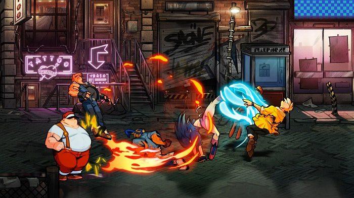 Dotemu travaille sur trois projets similaires à Streets of Rage 4
