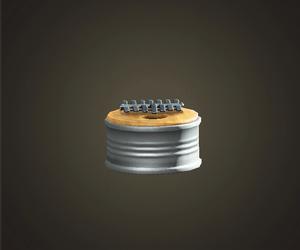 Piano à pouce recyclé