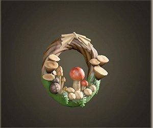 Couronne de champignons