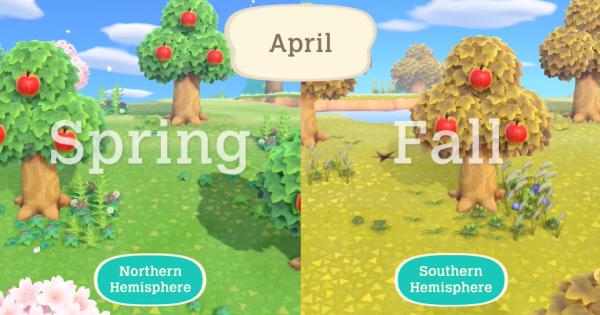 Animal Crossing New Horizons   Différences de temps, de saison et d'heure   Interrupteur de passage d'animaux