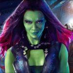Les Gardiens de la Galaxie montrent que l'art conceptuel de Gamora est très différent