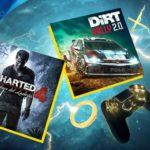 Uncharted 4 et DiRT Rally 2.0 confirmés comme jeux PlayStation Plus pour avril