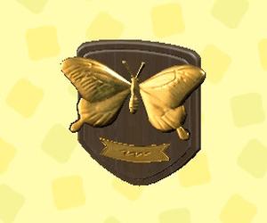 Plaque d'insecte