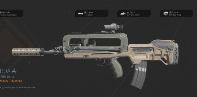 【Warzone】 Jerboa AR Blueprint – Statistiques et comment obtenir 【Call of Duty Modern Warfare】 – JeuxPourTous