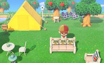 Placer des meubles à l'extérieur