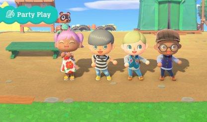 Partie de jeu avec 4 joueurs