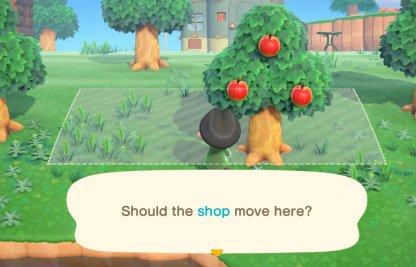 Peut déplacer la boutique