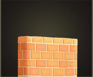 Clôture en brique