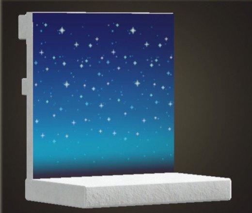 Mur de ciel étoilé