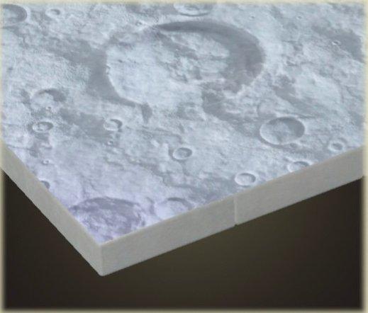 Revêtement de sol lunaire