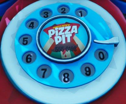 Trouvez le téléphone Big & Red et composez le 555-0198