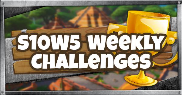 Fortnite | Guide et liste des défis de la saison 10, semaine 5