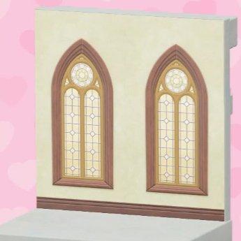 Mur de mariage marron
