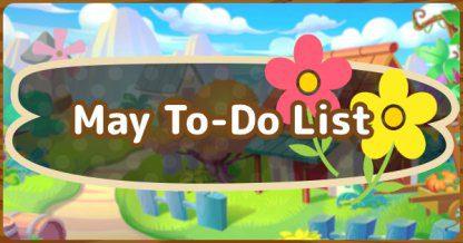 ACNH | Mai – Liste des poissons | Animal Crossing New Horizons