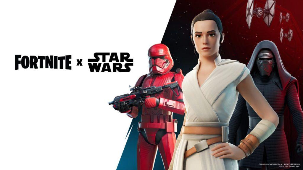 Fortnite récupère Rey, Kylo Ren et les sabres laser pour le Star Wars Day