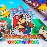 Nintendo annonce un nouveau Paper Mario: The Origami King pour Nintendo Switch