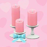 ensemble de bougies de mariage