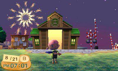 Festival de feux d'artifice