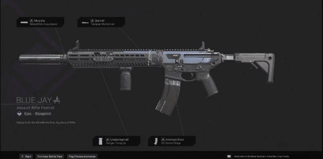 【Warzone】 Blue Jay AR Blueprint – Statistiques et comment obtenir 【Call of Duty Modern Warfare】 – JeuxPourTous