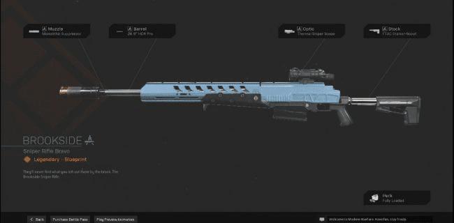 【Warzone】 Brookside Sniper Rifle Blueprint – Statistiques et comment obtenir 【Call of Duty Modern Warfare】 – JeuxPourTous