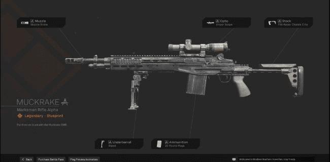 【Warzone】 Muckrake Marksman Rifle Blueprint – Statistiques et comment l'obtenir 【Call of Duty Modern Warfare】 – JeuxPourTous