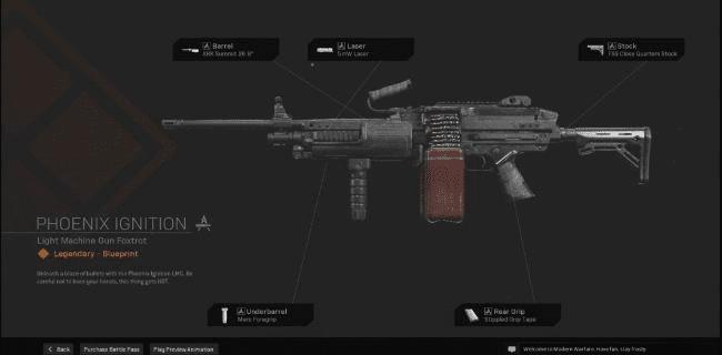 【Warzone】 Phoenix Ignition LMG Blueprint – Statistiques et comment obtenir 【Call of Duty Modern Warfare】 – JeuxPourTous