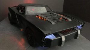 Le Batman montre la batmobile conduite par Robert Pattinson dans de nouveaux arts conceptuels