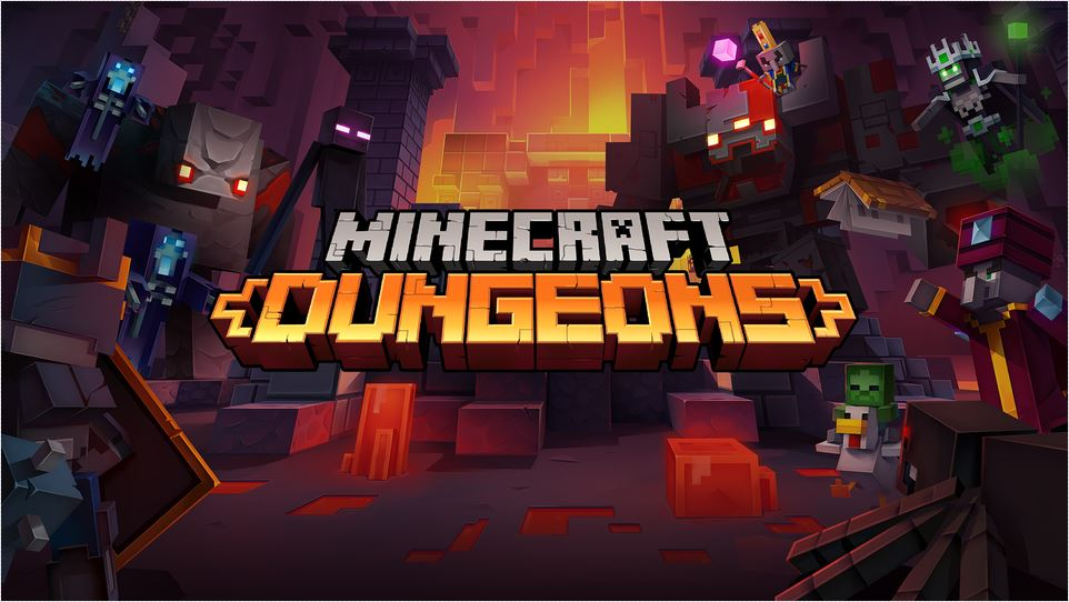Minecraft Dungeons | Diamond Sword – JeuxPourTous