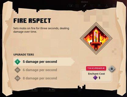 Aspect d'incendie