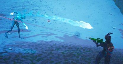 Fortnite Ice Storm Challenge Détruisez les Ice Fiends à distance