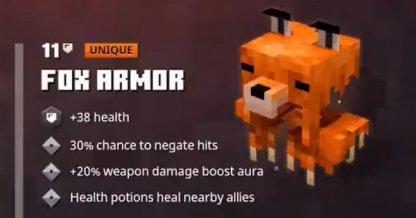 Armure de renard