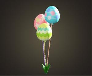 Ballon de jour de lapin
