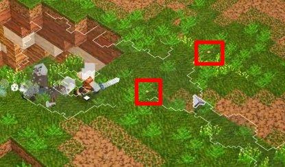 Utilisez une mini carte pour trouver les emplacements des balises