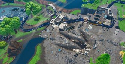 Polar Peak Monster détruit une partie du lac Loot