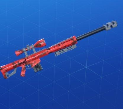 Wrap RED CAMO - Fusil de sniper