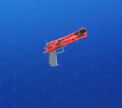 Wrap RED CAMO - Arme de poing