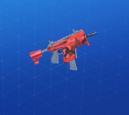 Wrap RED CAMO - Pistolet mitrailleur