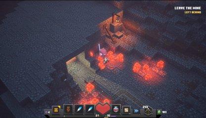 Emplacement de la rune des mines de Redstone