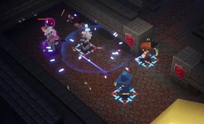 Jouer à Minecraft Dungeons en ligne avec des amis