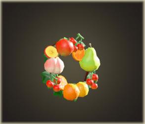 Couronne de fruits