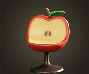 Chaise Apple