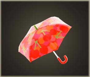 Parapluie cerise