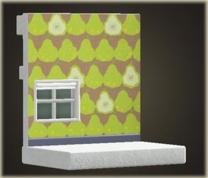 Mur de poire